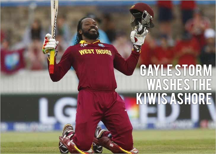 West Indies vs New Zealand world cup 2015 @TheRoyaleIndia