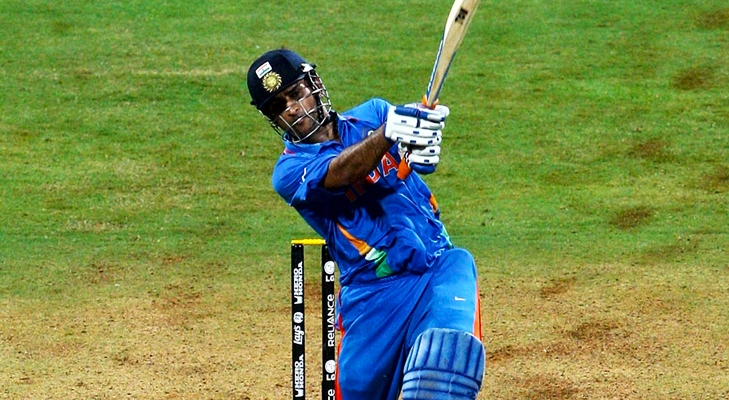 world cup six dhoni @TheRoyaleIndia