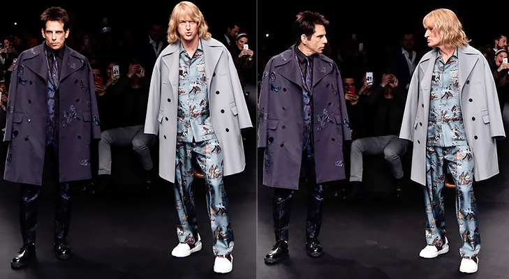 Zoolander Paris Fashion Week 2015 @TheRoyaleIndia