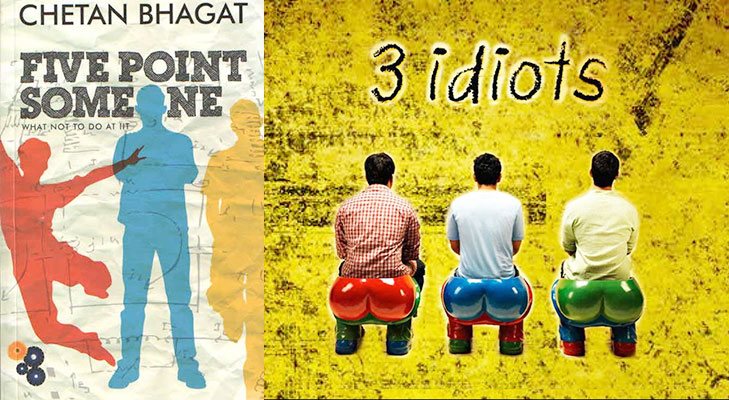 3 idiots book @TheRoyaleIndia