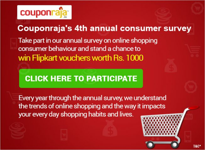 Consumer Behaviour Survey - Online Shopping India @TheRoyaleIndia