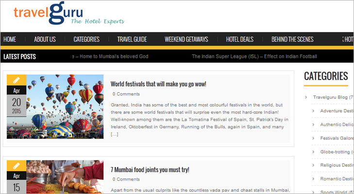Travelguru Blog @TheRoyaleIndia