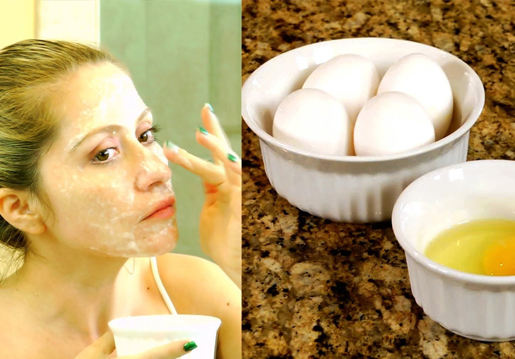 Egg white face pack @TheRoyaleIndia