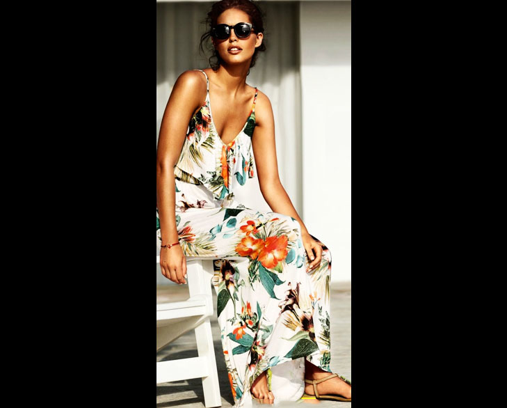 floral print maxis @TheRoyaleIndia