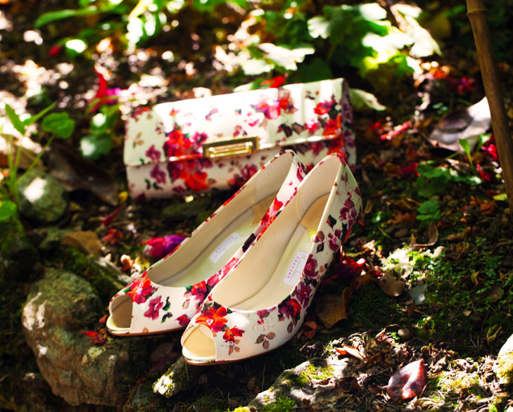 floral print shoes @TheRoyaleIndia