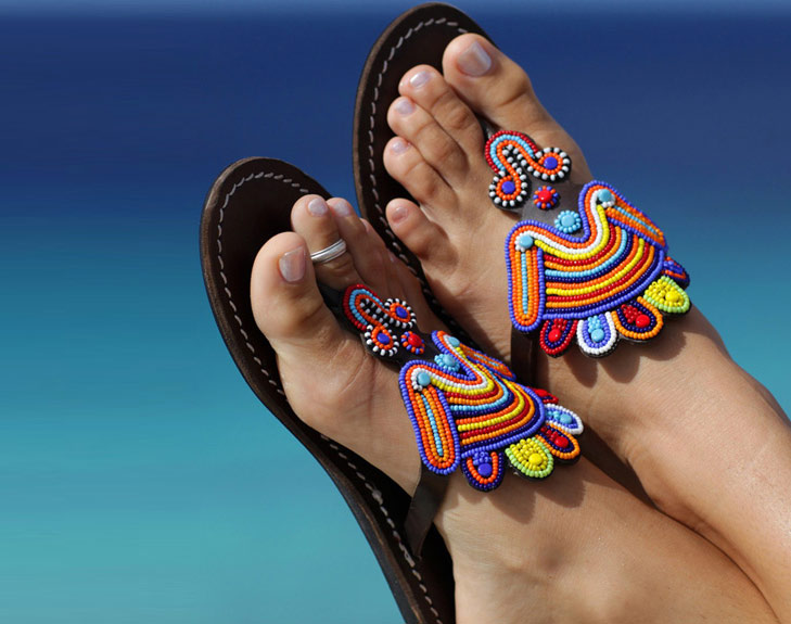 Beaded Footwear @TheRoyaleIndia