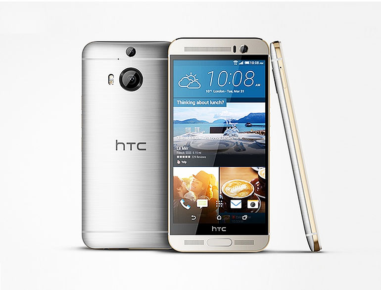 HTC Unveils its Galaxy S6 Rival – 'One M9+' @TheRoyaleIndia