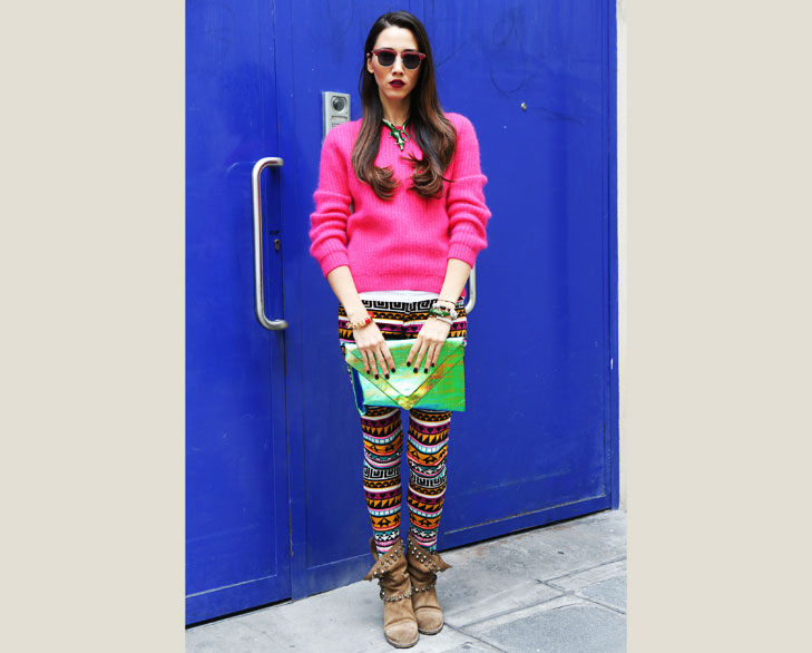 Multi Colored Skinnies @TheRoyaleIndia