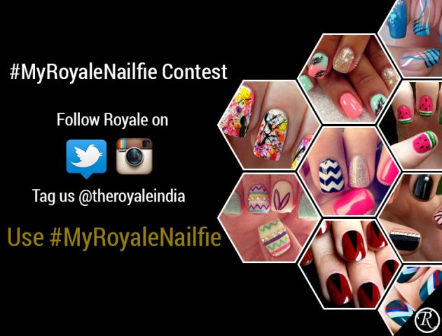 #MyRoyalNailfie Contest – It's all about Nail Art with a Summer Twist @TheRoyaleIndia