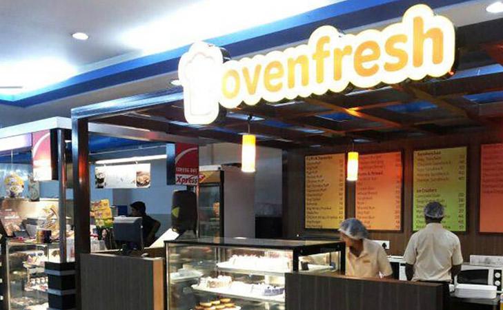 Oven Fresh Bakery @TheRoyaleIndia