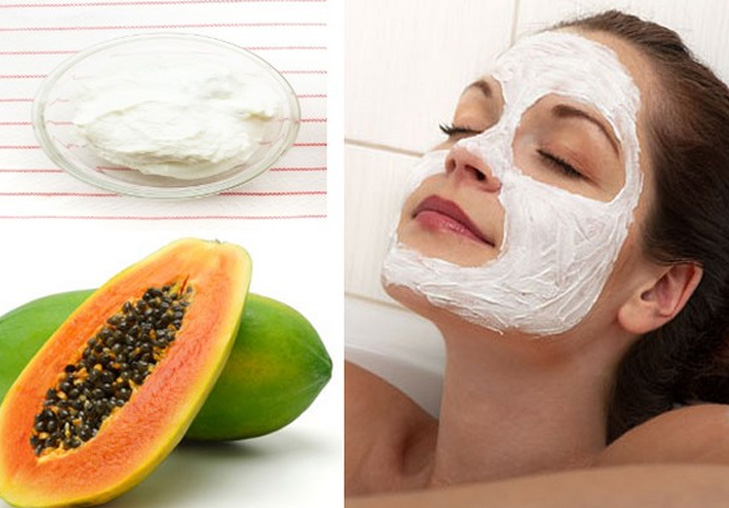 Papaya and banana face pack @TheRoyaleIndia