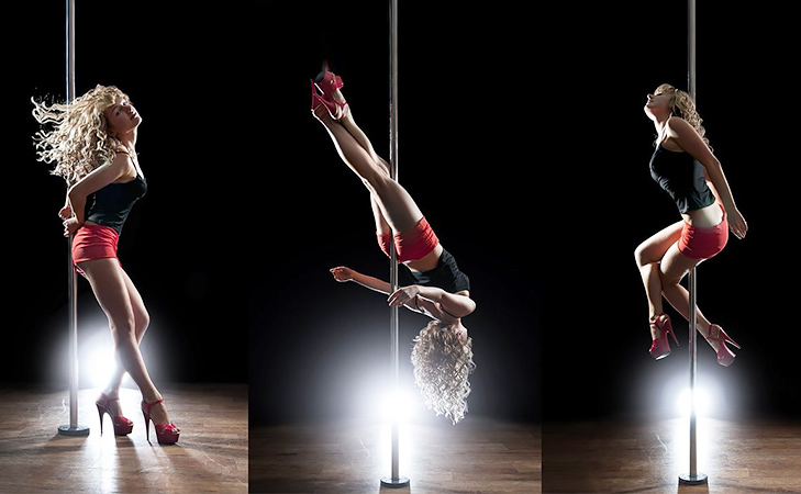 pole dance @TheRoyaleIndia