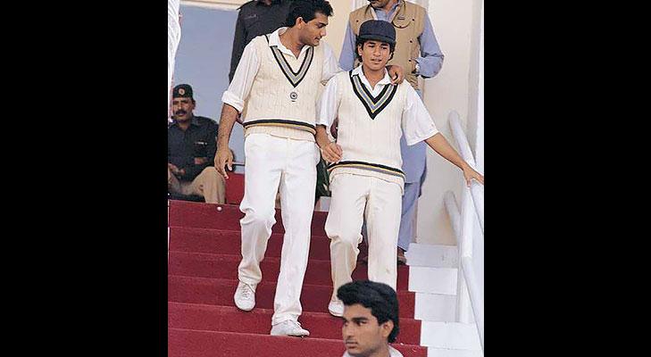 sachin tendulkar debut match @TheRoyaleIndia
