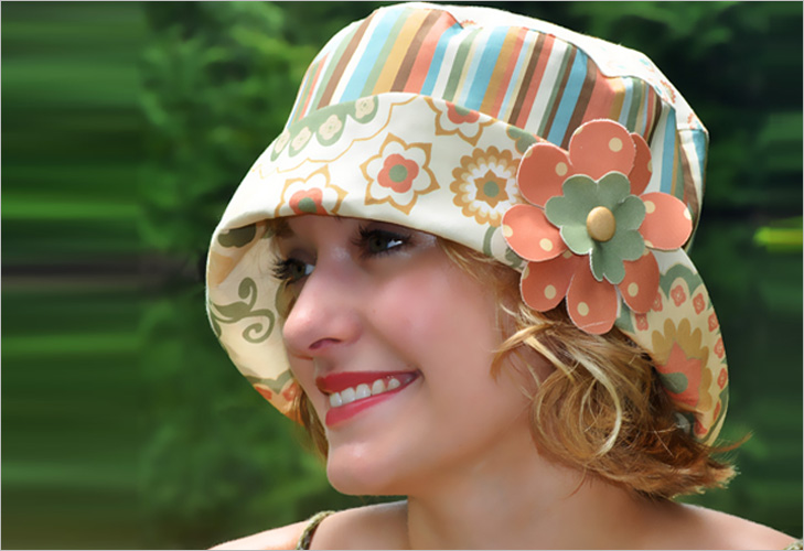 Summer Cloche Hat @TheRoyaleIndia