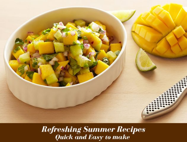 3 Refreshing Summer Recipes That Are Quick And Easy @TheRoyaleIndia