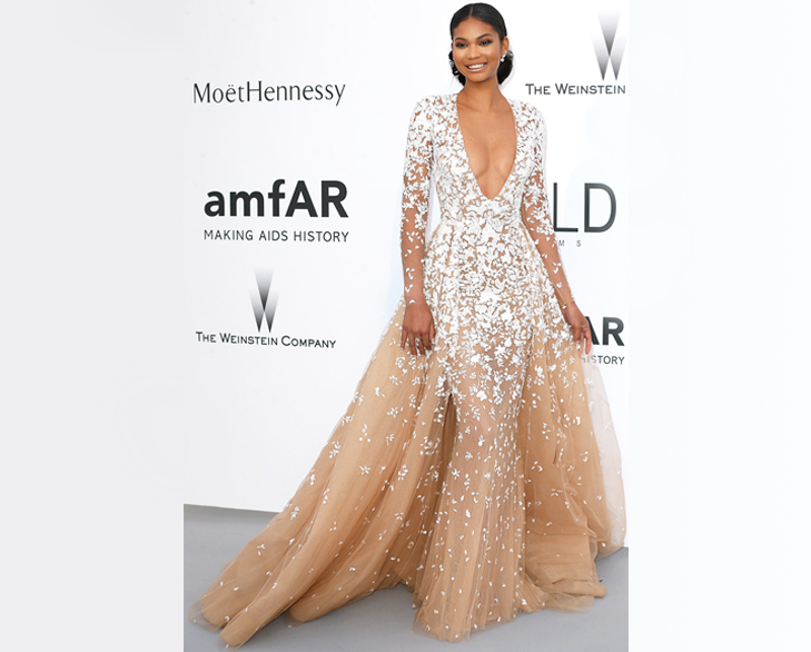 chanel iman cannes 2015 @TheRoyaleIndia