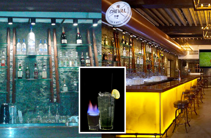 Cheval bar and restaurant mumbai @TheRoyaleIndia