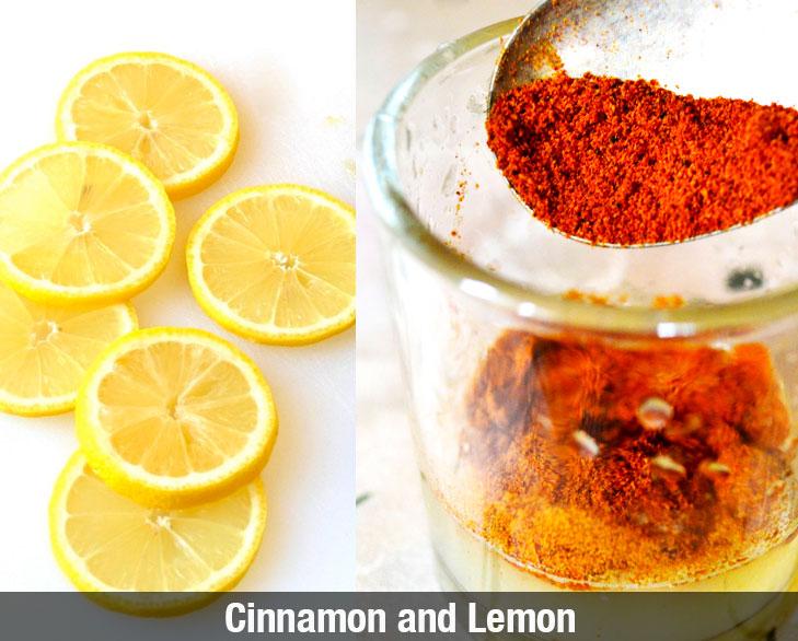 cinnamon and lemon @TheRoyaleIndia