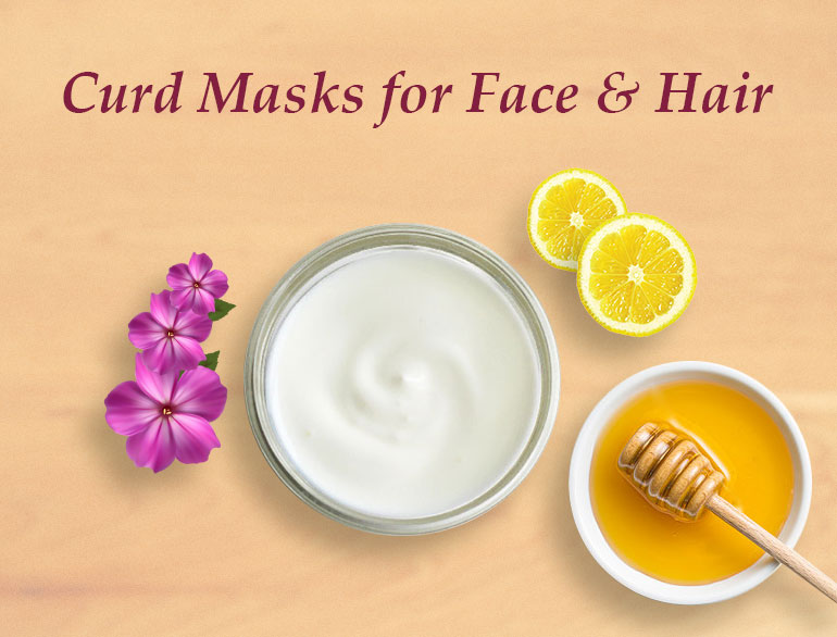 Curd Packs For Face And Hair @TheRoyaleIndia