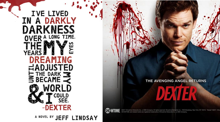 Dexter TV Series Book @TheRoyaleIndia