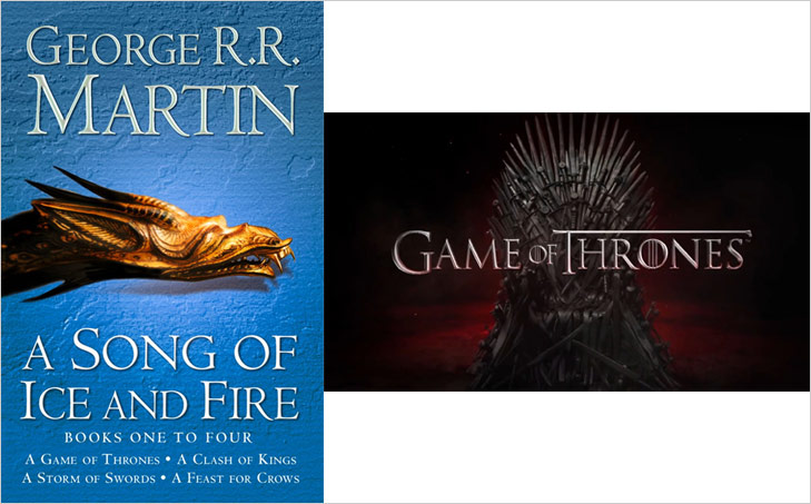 Game of Thrones Books @TheRoyaleIndia