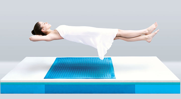 Gel Mattress @TheRoyaleIndia