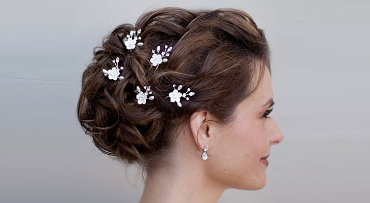 Hair Updos With Accessories @TheRoyaleIndia