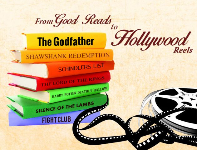 hollywood movies inspired from books @TheRoyaleIndia