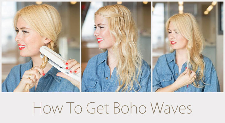 How To Get Boho Waves @TheRoyaleIndia