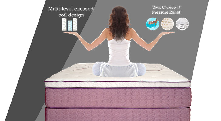 Hybrid Mattress @TheRoyaleIndia