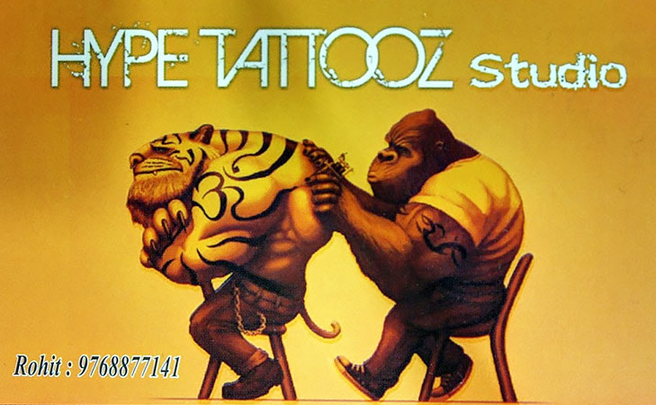 Hype Tattooz Studio @TheRoyaleIndia