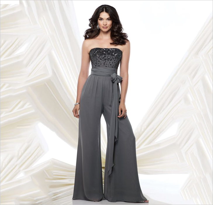 Jumpsuit With Cloth Belt @TheRoyaleIndia
