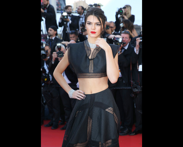 Kendell Jenner cannes 2015 @TheRoyaleIndia