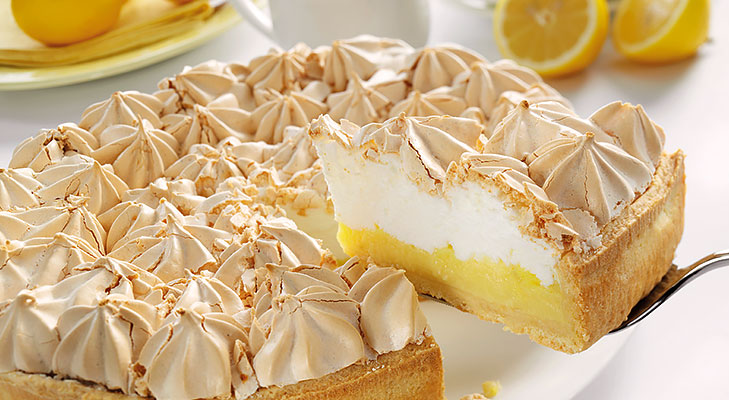 lemon meringue pie @TheRoyaleIndia