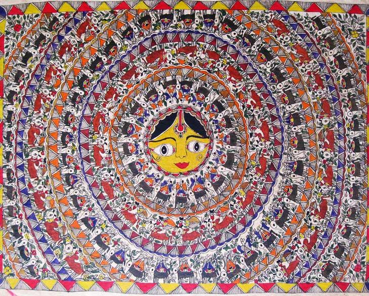 Madhubani Painting @TheRoyaleIndia