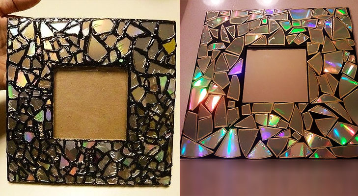 Make A Mosaic Mirror @TheRoyaleIndia