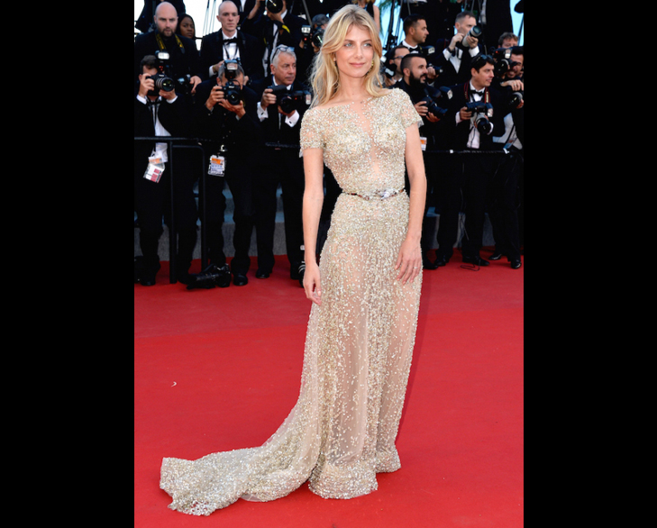 Mélanie Laurent cannes 2015 @TheRoyaleIndia