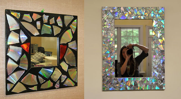 Mosaic Mirror DIY @TheRoyaleIndia