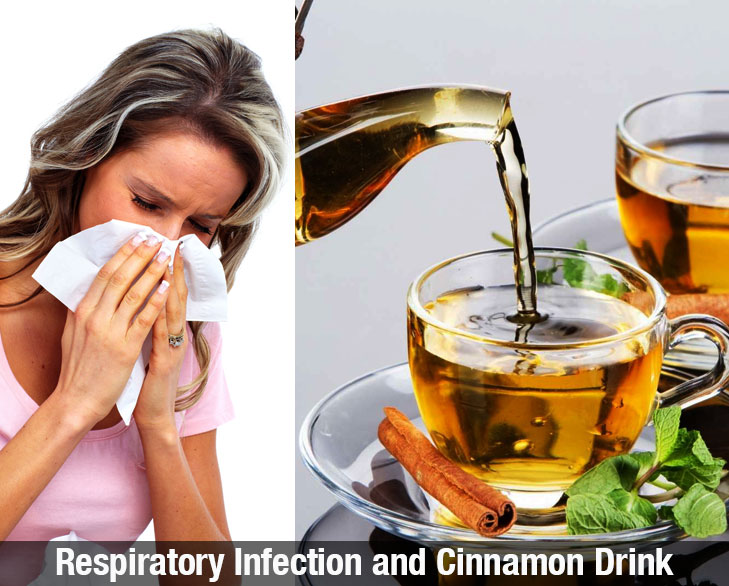 Respiratory infection and cinnamon drink @TheRoyaleIndia