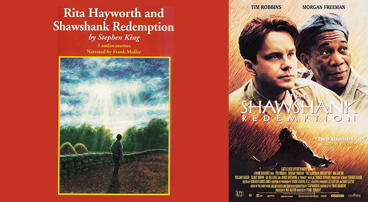 Shawshank Redemption Book @TheRoyaleIndia
