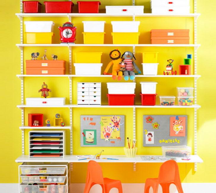 Shelves for storage @TheRoyaleIndia