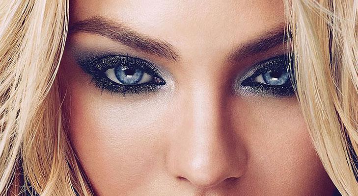 shimmer eye makeup looks