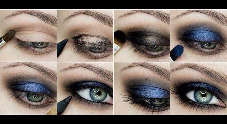 smokey eye tutorial @TheRoyaleIndia