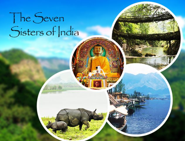 Seven Sisters Of India @TheRoyaleIndia