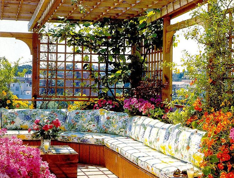Tips for terrace garden the royale for Patio terrace