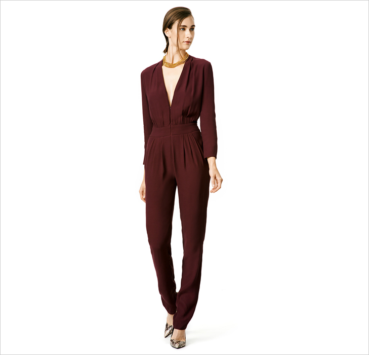 v neck jumpsuit @TheRoyaleIndia