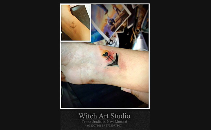 Witch Art Tattoos @TheRoyaleIndia