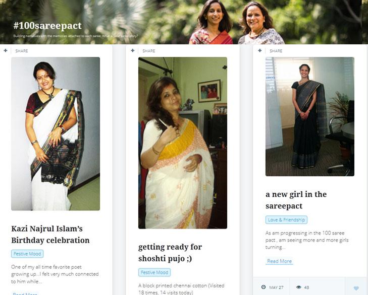 #100Sareepact @TheRoyaleIndia