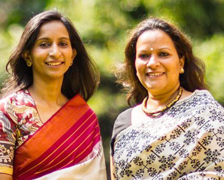 Ally Matthan & Anju Maudgal Kadam @TheRoyaleIndia