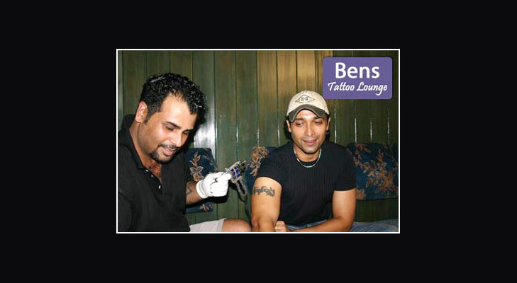 bens tattoo lounge @TheRoyaleIndia